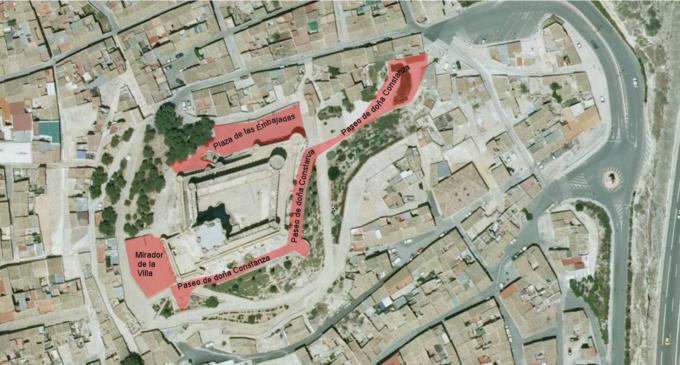 Villena inaugurará las nuevas calles ubicadas junto al Castillo