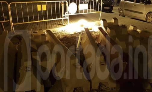 Los vecinos del bulevar Maestro Carrascosa denuncian la falta de seguridad en las obras de la isleta