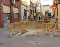 Aviso de suspensión temporal de suministro de agua potable en cinco calles de Villena