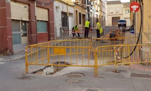 Comienzan las obras de adecuación de la calle Ritas