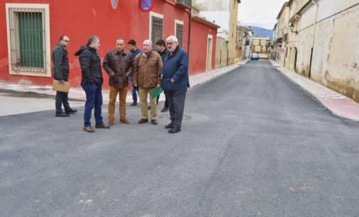La Diputación de Alicante invierte más de 260.000 euros en la renovación de la red de agua potable de Beneixama