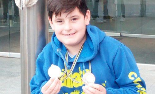 Sergio Martínez consigue dos pódium en el III Trofeo de Natación Villa de La Nucía