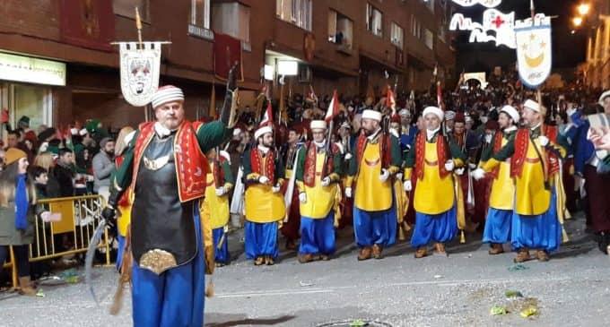 Los Marruecos de Villena en las fiestas de Bocairent