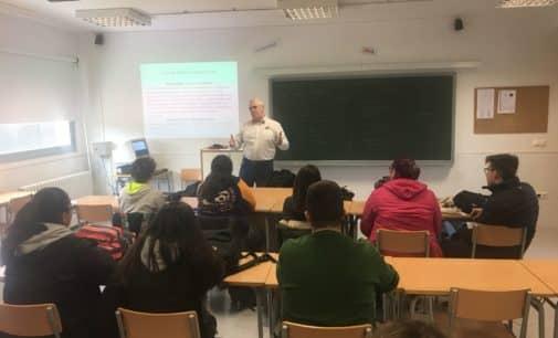 Charlas a los alumnos de la ESO sobre  seguridad vial