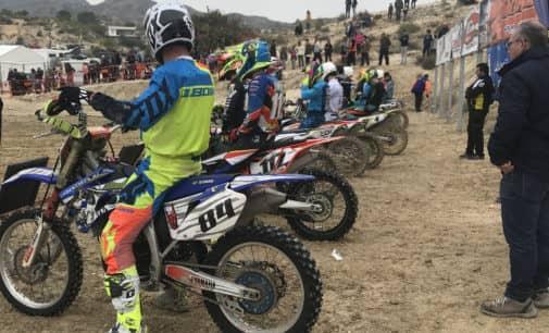 Iván Ruiz consigue buenos resultados en la primera carrera de Motocross del Territorial Valenciano