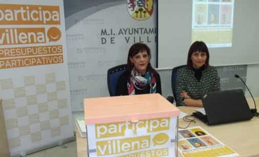 Villena comenzará el lunes la recogida de propuestas ciudadanas para los presupuestos participativos