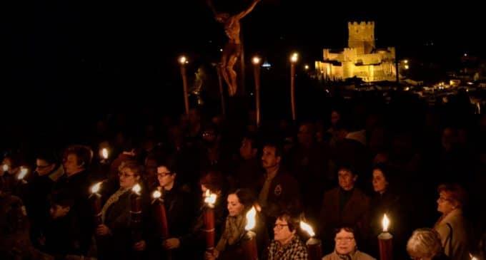 El Via Crucis inicia los actos de Semana Santa del fin de semana