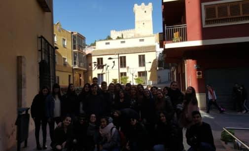 Un grupo de alumnos italianos visita el IES Las Fuentes