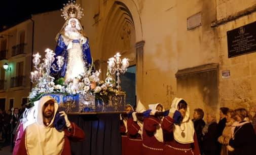 El Cristo de la Caída y la Virgen de la Amargura, solemnidad en la Semana Santa en Villena