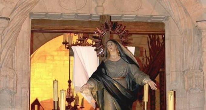 Agradecimiento de la cofradía de Nuestra Señora de los Dolores