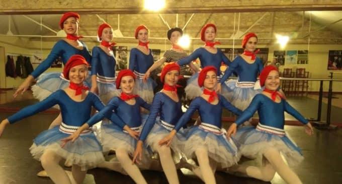 Alumnas de la Escuela Municipal de Danza en el concurso nacional Anaprode