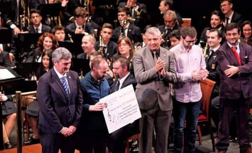 """Enrique Alborch y Alfonso Yépez, ganadores del VI concurso de música festera  """"Compositor Manuel Carrascosa"""""""