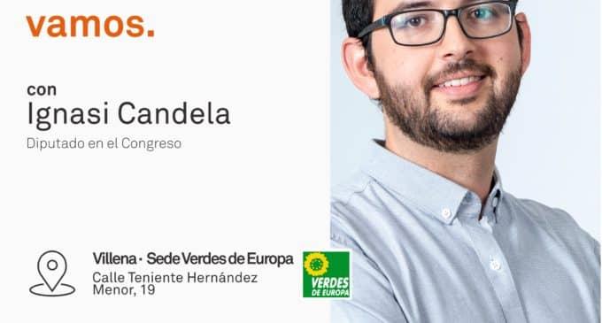 El diputado de Compromís, Ignasi  Candela, abordará la situación de las pensiones