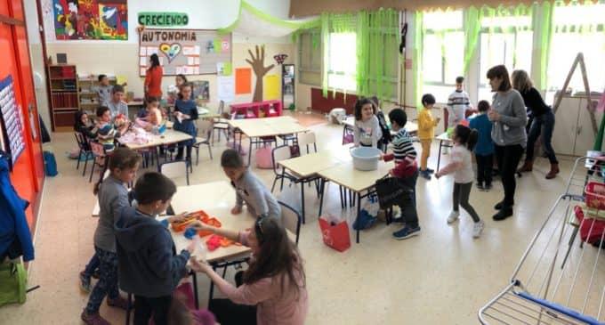 El alumnado del Colegio Público Ruperto Chapí apuesta por la corresponsabilidad en el hogar