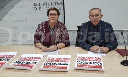 CC.OO convoca una concentración por el sistema público de pensiones