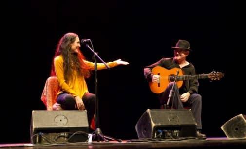 Clara Montes en el concierto para el Día de la Mujer en el Teatro Chapí