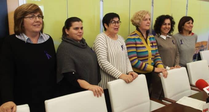 Las concejalas del gobierno de Los Verdes secundarán la  huelga feminista del 8 de marzo