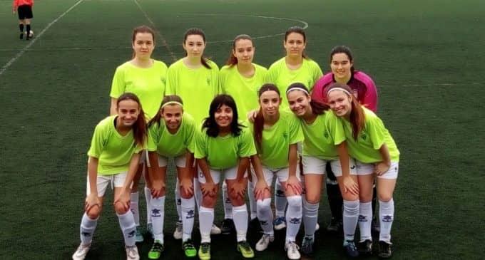 Carrusel de goles del Villena CF femenino
