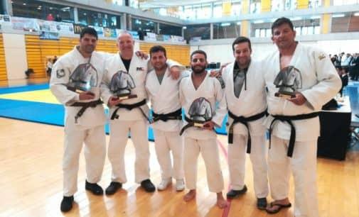 Francisco Beltrán, oro en la II Copa de España de Judo Máster