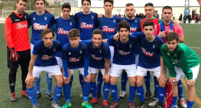 Victoria de los equipos Benjamines del Villena CF
