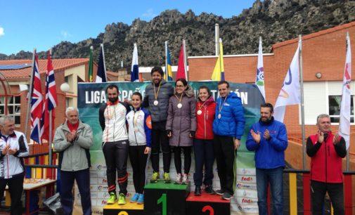 El club Orientación Villena en la cuarta prueba de la liga nacional