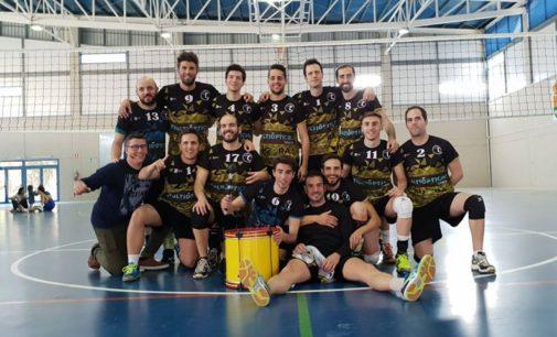 El senior del club Voleibol, campeón autonómico