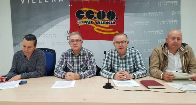 CCOO plantea movilizaciones de los trabajadores de la limpieza viaria