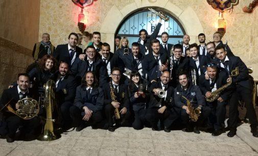 Asociación Musical Adelum de Villena, primera clasificada en la entrada de bandas de las fiestas de Onil