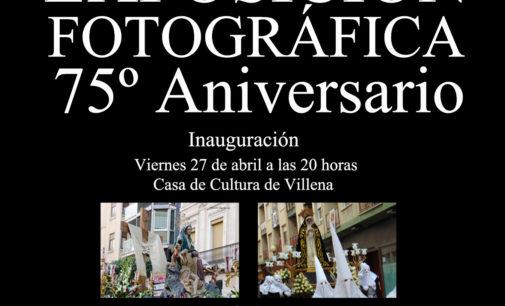 Inauguración Exposición Fotográfica 75 Aniversario Cofradías Angustias y Soledad de Villena