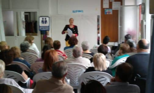 El Villena CF colabora en las jornadas organizadas por la Asociación de Fibriomialgia