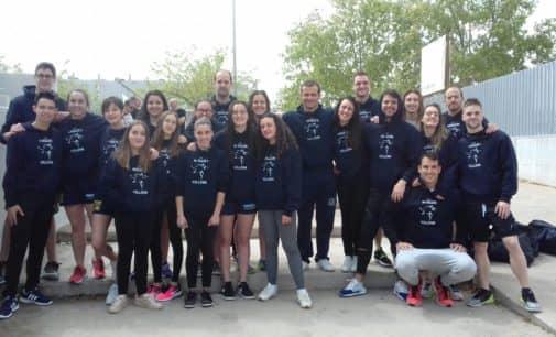 Campeones de la liga de clubes, ascenso a primera división autonómica y mínima en 50 y 100 metros en natación