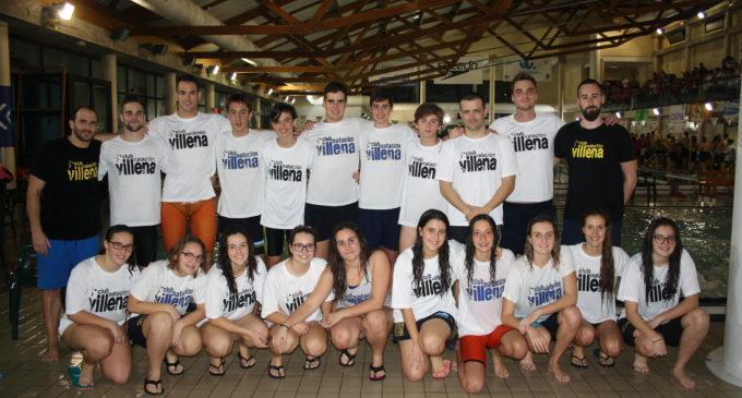 El Club Natación Villena participa en Castellón en la VII Liga Autonómica de Clubes