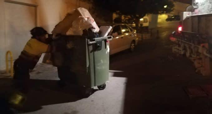 El PSOE denuncia que Villena está más sucia con la gestión directa del servicio de limpieza