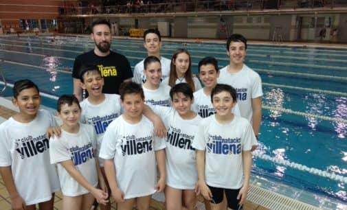 Irene Díaz y Álvaro Suarez, nadadores destacados en la VII Jornada de la Liga Autonómica Promesas de Natación