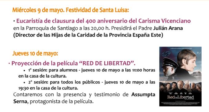 El colegio Nuestra Señora de los Dolores (Paulas) celebra la clausura del 400 aniversario del Carisma Vicenciano