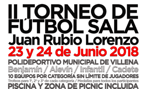 Llega la segunda edición del Torneo de Verano Juan Rubio Lorenzo