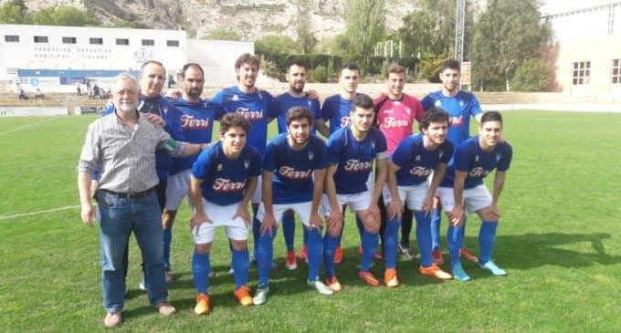 Victoria del Villena CF en el último partido de la temporada en La Solana