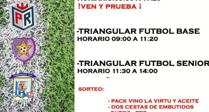 1º jornadas de fútbol femenino Bodegas Las Virtudes