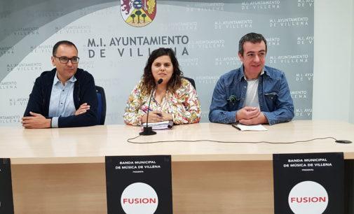 La Banda Municipal de Villena organiza un concierto fusión entre música sinfónica y rock