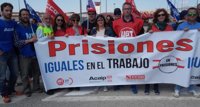 El PSOE de Villena  se solidariza con los funcionarios de prisiones