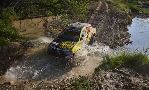 Cuarta posición para el equipo Metal Lube Rally Raid