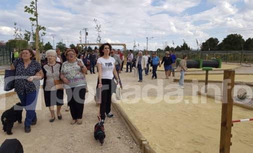 Inauguran el primer parque canino de Villena