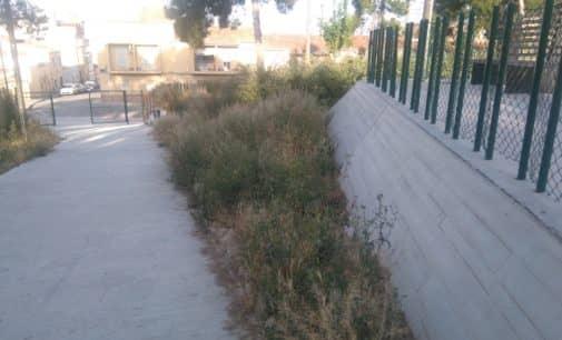Los Verdes informan de las actuaciones de limpieza en parques y solares demandadas por el PP