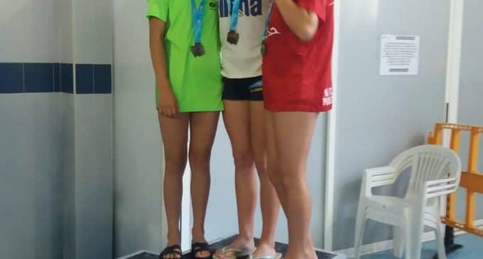 Tres nuevas mínimas y dos podiums en Natación