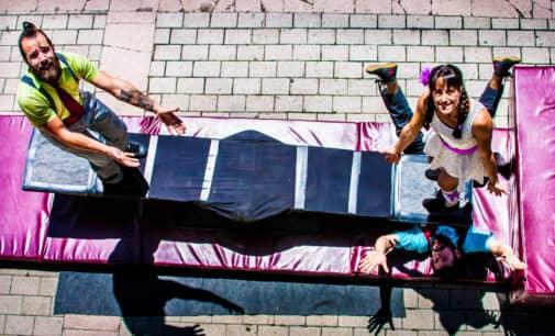 El Teatro Chapí recibe la llegada del verano con circo en la calle