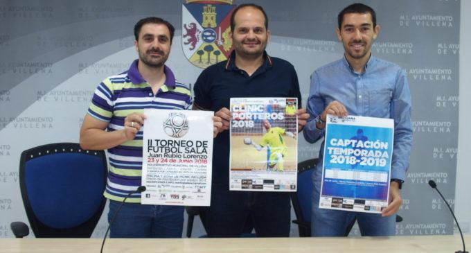 Este fin de semana se celebra el torneo junior de fútbol sala Juan Rubio en el Polideportivo Municipal