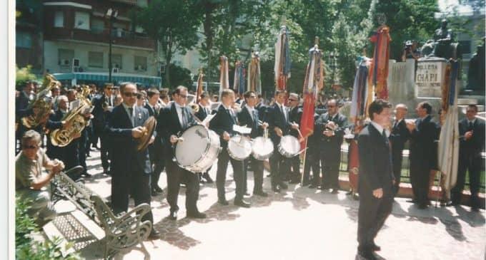 Bandas de la comarca desfilarán el domingo en Villena por el 25 aniversario de la Sociedad Musical