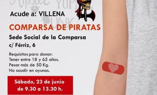 Donación de Sangre en la comparsa de Piratas