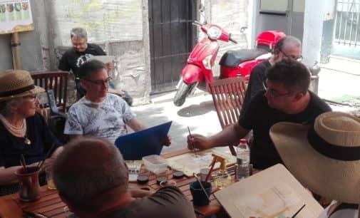 El Salón de la Cerveza organiza el 2º certamen de acuarela pintada con cerveza