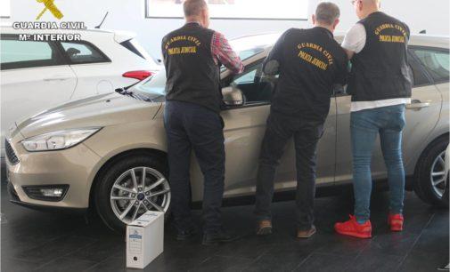 Detienen a cuatro personas en Villena por manipular cuentakilómetros